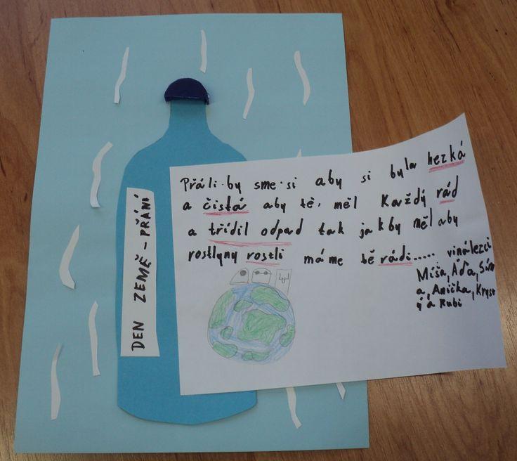 Den Země - vzkaz Zemi v lahvi
