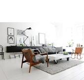 Binnenkijken in een Zweeds appartement vol ruwe schoonheid - woonblog