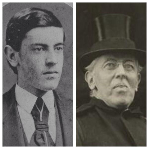 Woodrow Wilson (1856-1924), 28th President: 1913-1921.