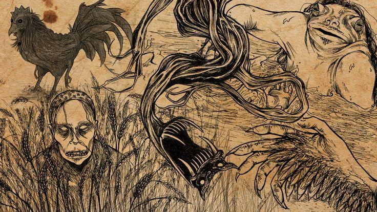 CREEPYPASTA  Jak rysować straszne rzeczy  Olsikowa rysuje#36