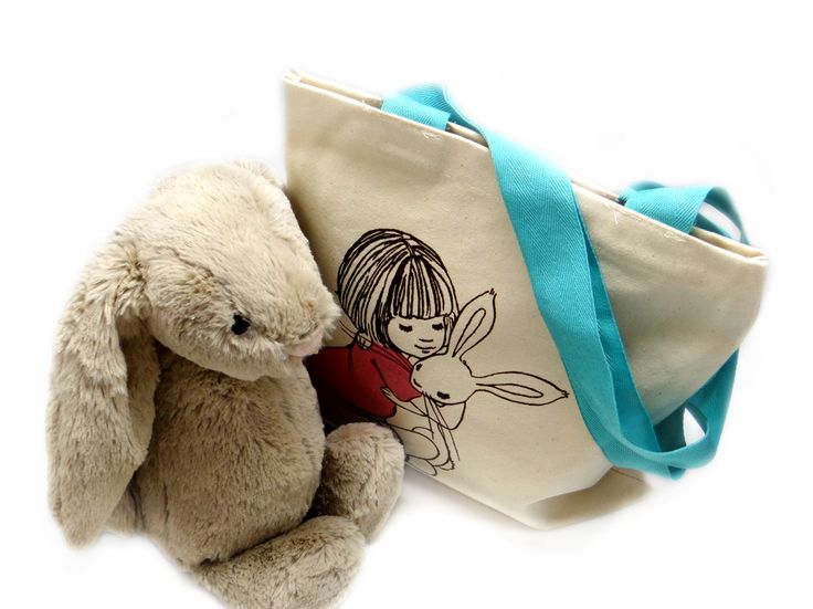 Belle and Boo Bag complete with Bashful Bunny
