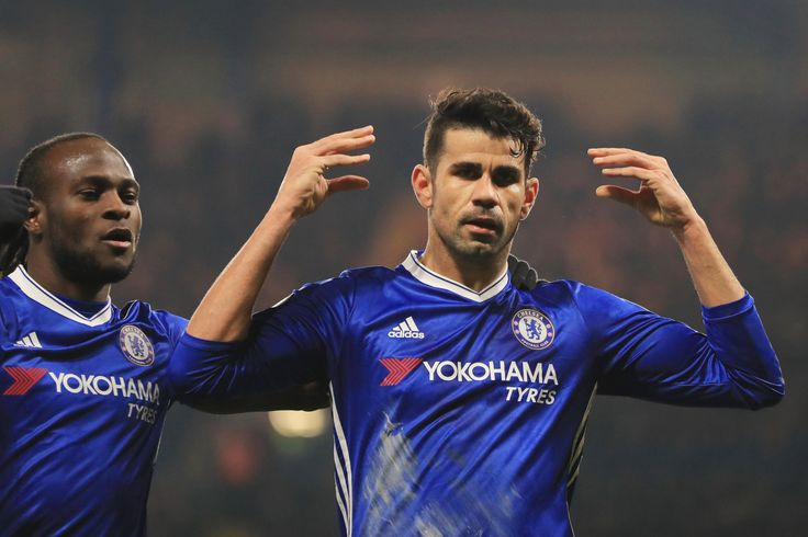 @Chelsea #Moses and #DiegoCosta #ChelseaFC #Blues #9ine
