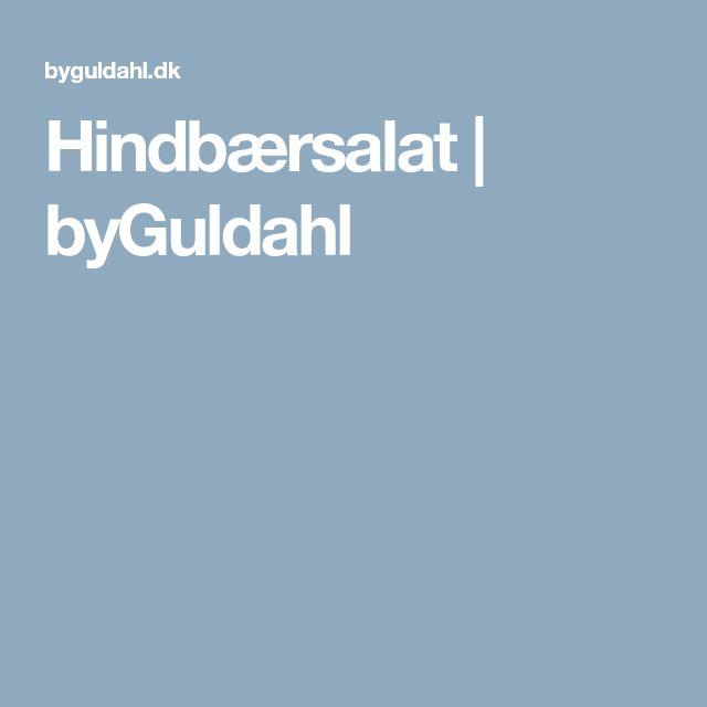Hindbærsalat | byGuldahl