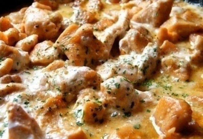 Ínyenc csirkeragu recept képpel. Hozzávalók és az elkészítés részletes leírása. Az ínyenc csirkeragu elkészítési ideje: 36 perc