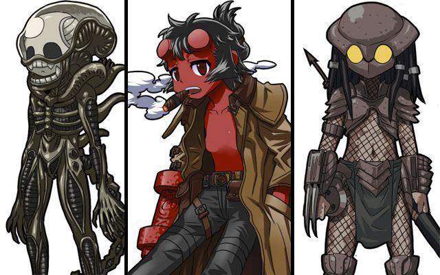 personajes de terror para halloween