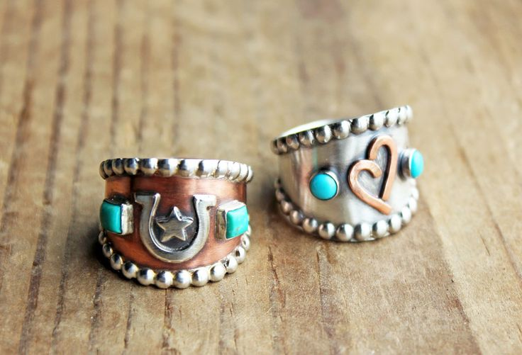 Ranch Brand Rings. Livestock Brand Jewelry. Cattle Brand Rings. by: littlewingedheart.etsy.com