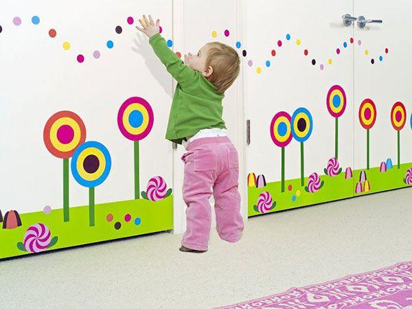 Le pareti della CAMERETTA sono bianche? Un'allegra soluzione sono gli STICKERS MURALI PER BAMBINI!!!  http://www.arredamento.it/notte/camerette/camerette-bambini/sticker-murali-bambini.html #camerettebambini #consiglicamerette #wallstickers #Leostickers