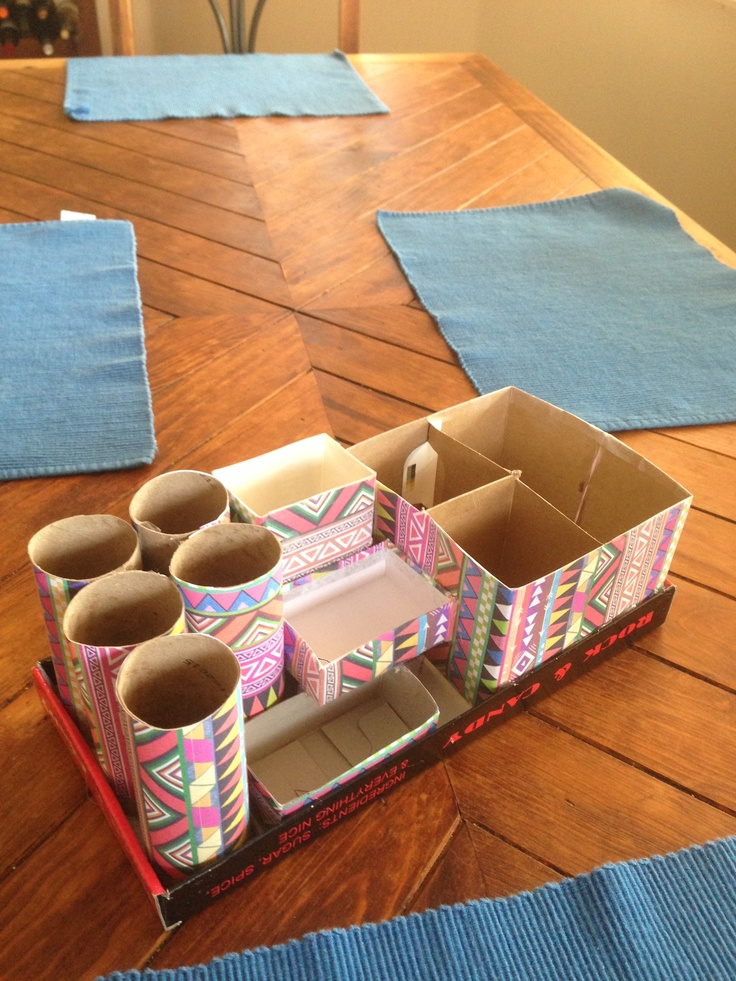 161 best office organization images on pinterest for Diy shoe storage with cardboard