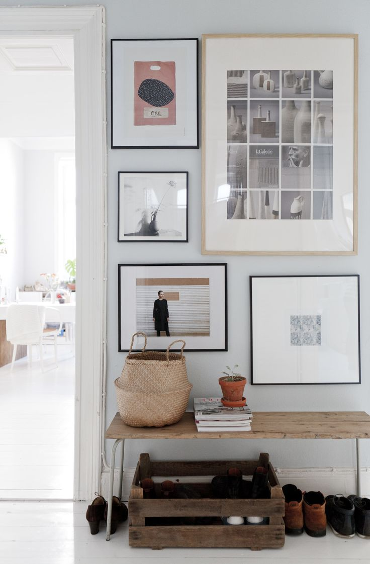 entry...makes it cozy with the frame collection