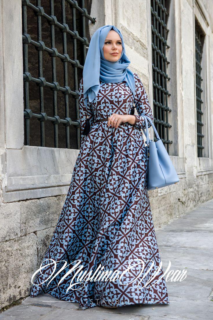 Muslima Wear Hijab Style Dress