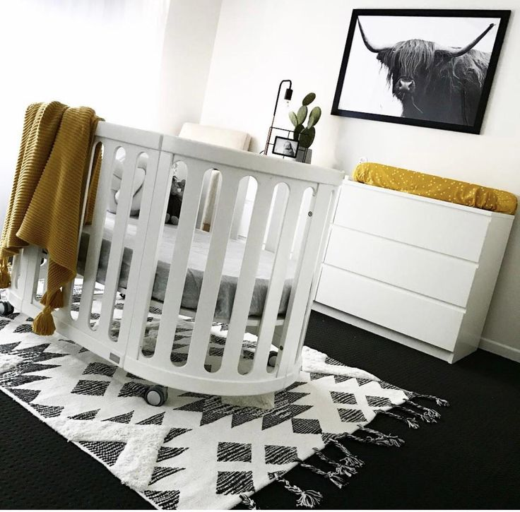 @mrs_swifte's beautiful nursery featuring our Traditional Rug