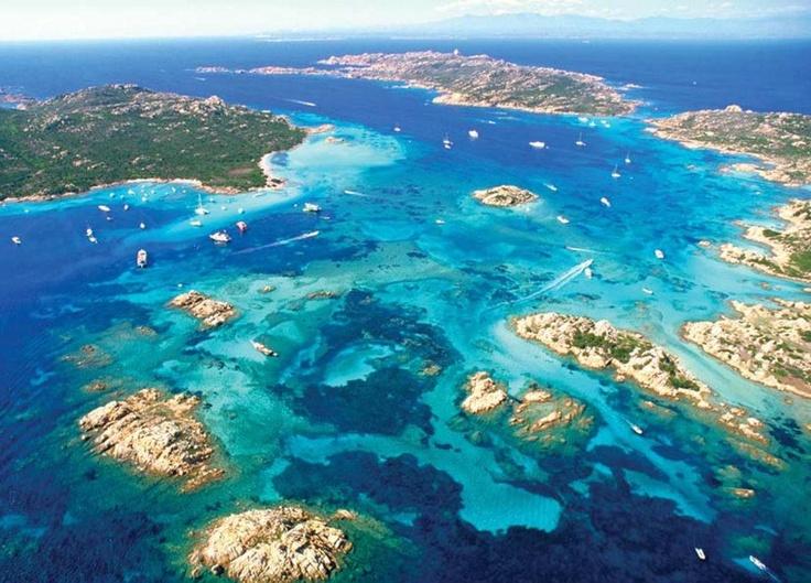 Arcipelago La Maddalena, Sardinia Post card perfect