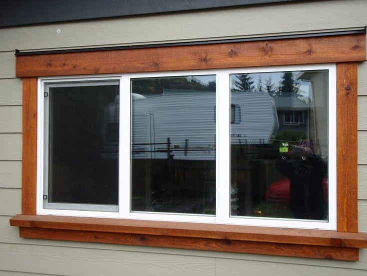 Best 20 outdoor window trim ideas on pinterest starter for Outdoor window frame decor