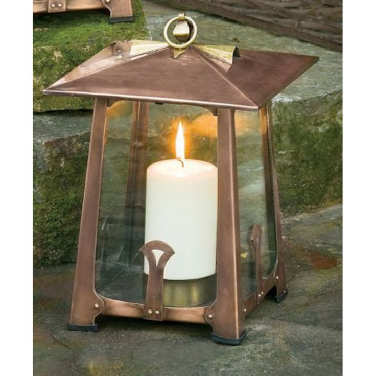 H. Potter Large Craftsman Candle Lantern - GAR262