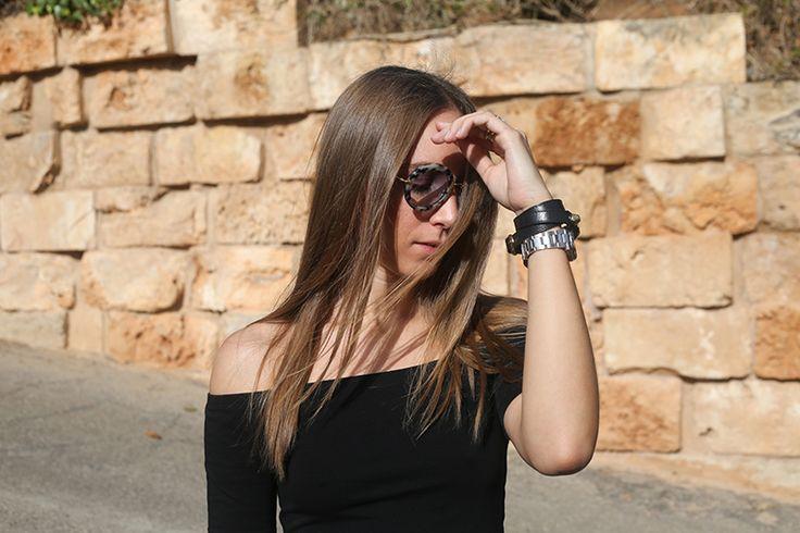 stylethemonkey.com // hair, off shoulder