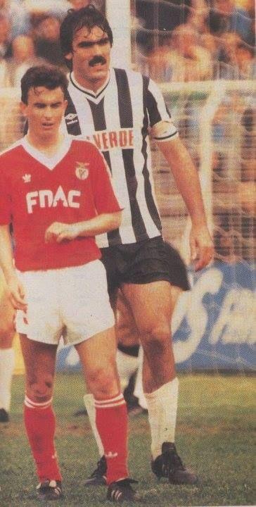 #Benfica - Espinho Augusto (quem se lembra?) do Benfica Nelo no Espinho