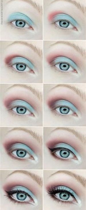 disney-frozen-elsa-blue-eyeshadow-makeup