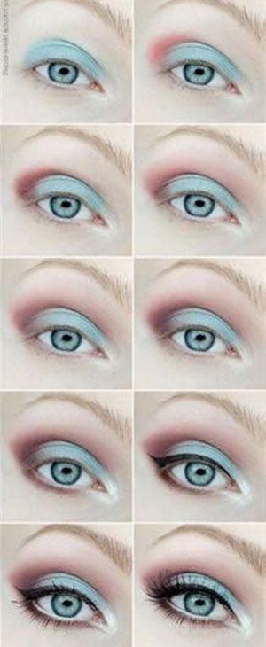 disney-frozen-elsa-blue-eyeshadow-makeup