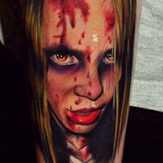 346 Best Horror Gore Guts Images On Pinterest: 412 Best Images About Horror Tattoos On Pinterest