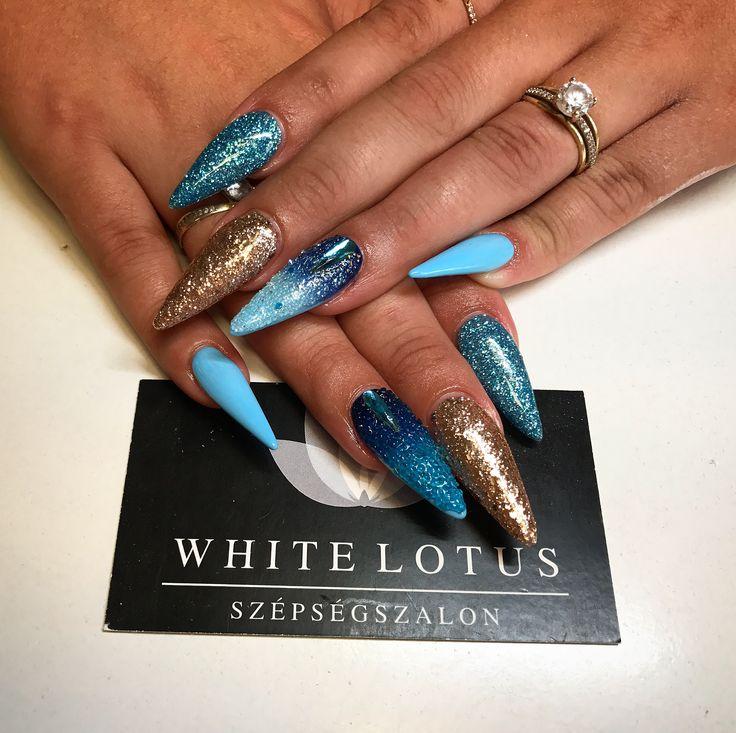 🔹💙Blue Nails 🔹 BlueLove 💙🔹  ➡️Instagram: anett.volcz