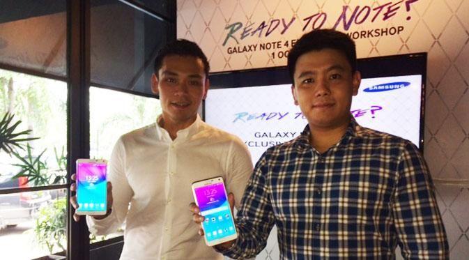 Samsung Indonesia Perkenalkan Galaxy Note 4
