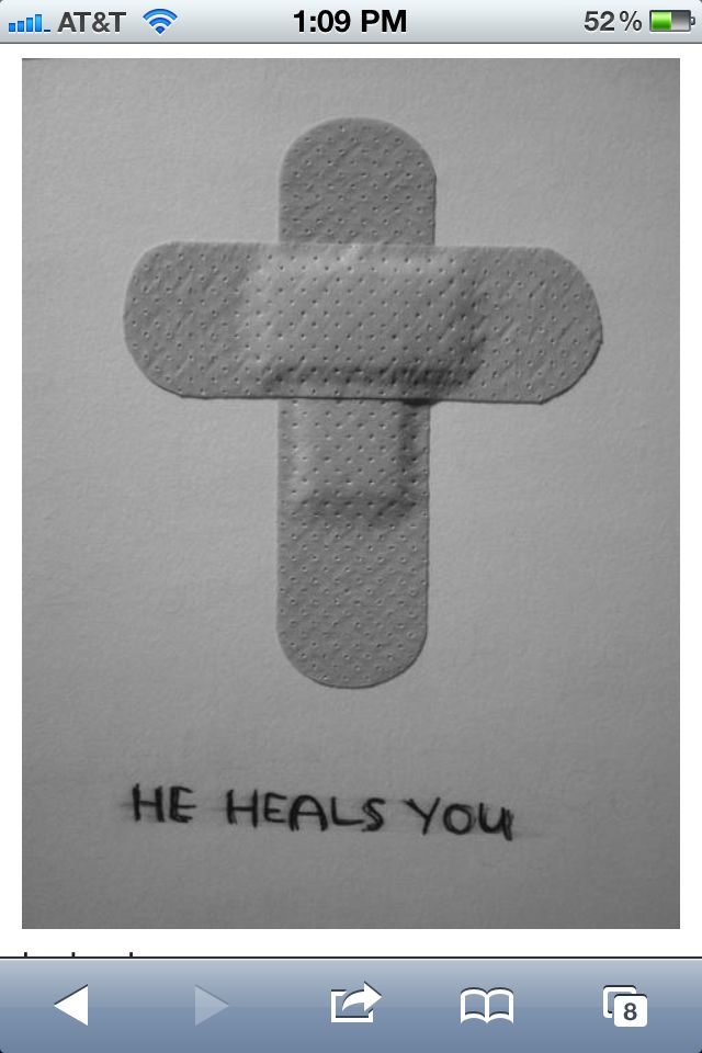 Great for Sunday School lesson on how God heals us. JESUS heals the broken hearted