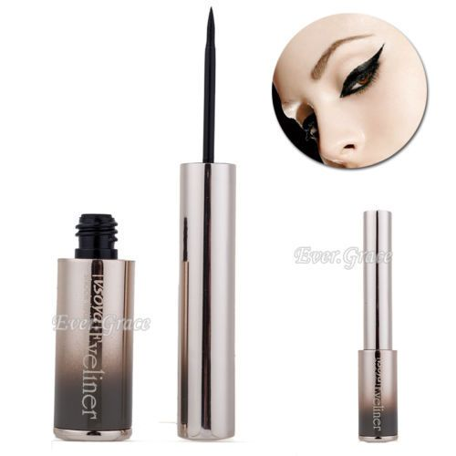 Maquiagem delineador preto liso líquido lápis de olhos lápis à prova d ' água cosméticos alishoppbrasil