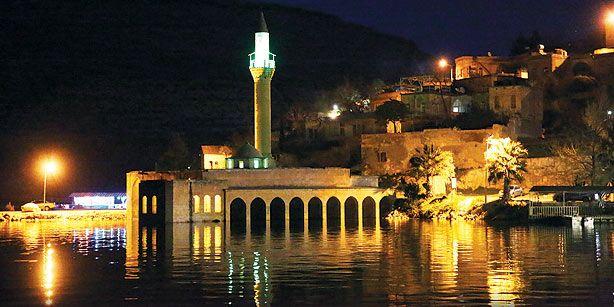 Night View of Halfeti