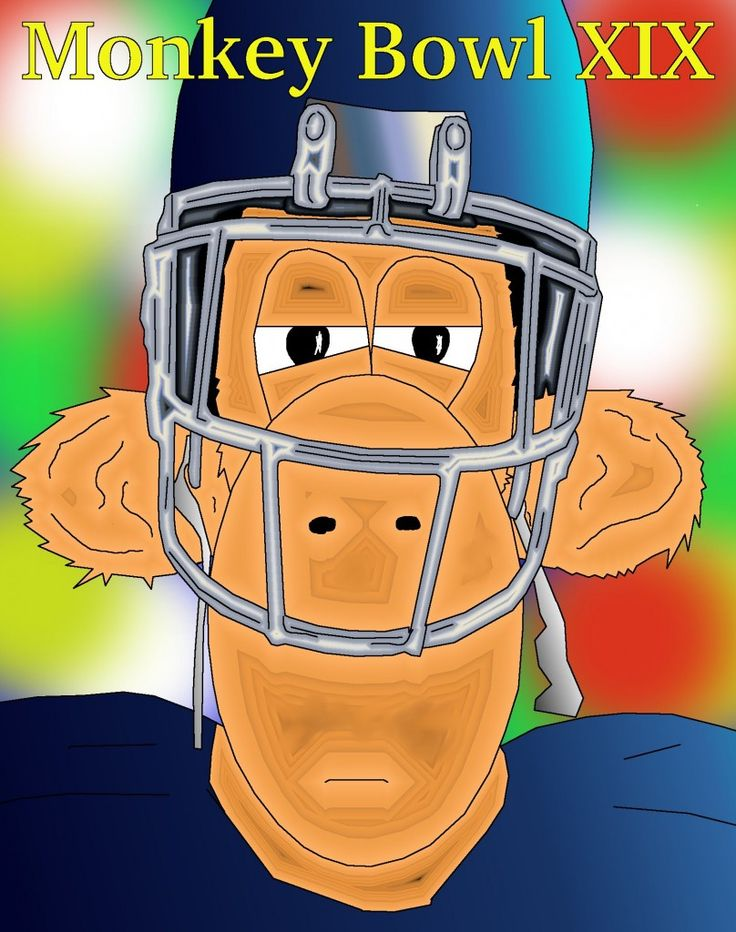 Monkey football Player