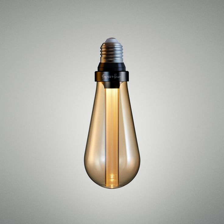 The World's first designer LED bulb. Available in CRYSTAL, GOLD or SMOKED finish.  The resin light pipe at the centre of the bulb is where all the magic...