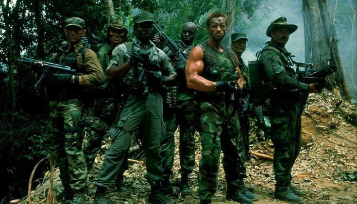 Predator - Arnold Schwarzenegger, Carl Weathers, Jesse Ventura, Bill Duke, Sonny Landham, Richard Chaves, Shane Black