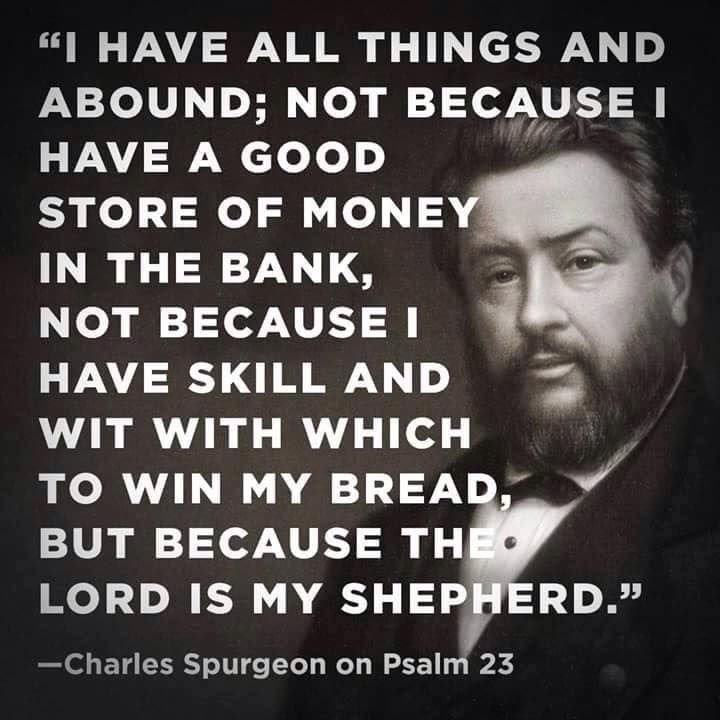 Spurgeon Quotes: The 25+ Best Psalm 23 Ideas On Pinterest