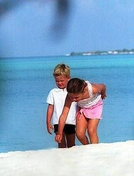 Gina-Maria and Mick Schumacher.  Michael and Corinna's children