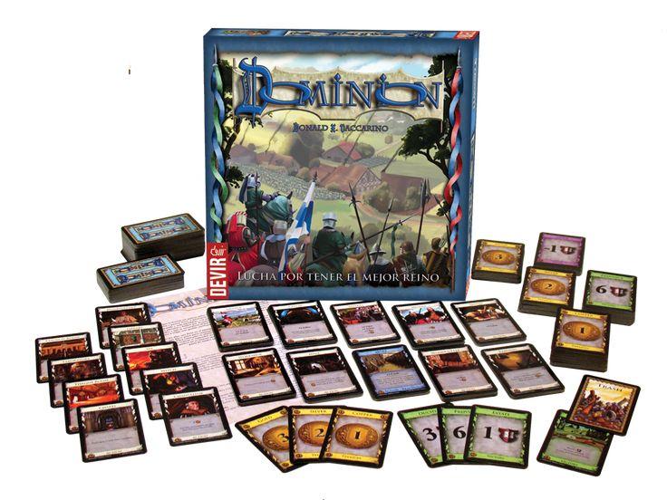 Partida a Dominion de @devirIberia visita nuestro blog: http://boardgamescave.wordpress.com/
