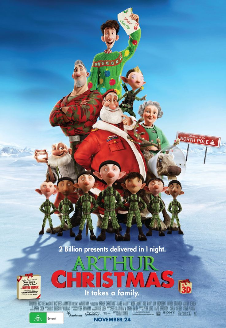 83. Adorable christmas movie. Very funny as well