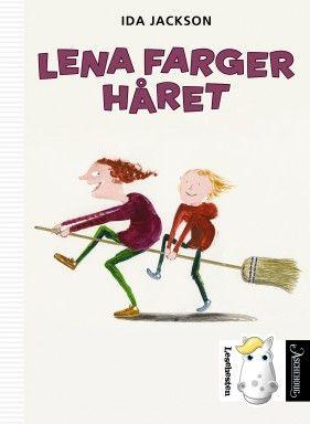 Ny bok om kule Lena i serien Den lille lesehesten.