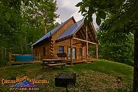 Mountain Hideaway log cabin vacation rental by Carolina mountain vacations. T-2 days!!!! I will be here on sunday!!!