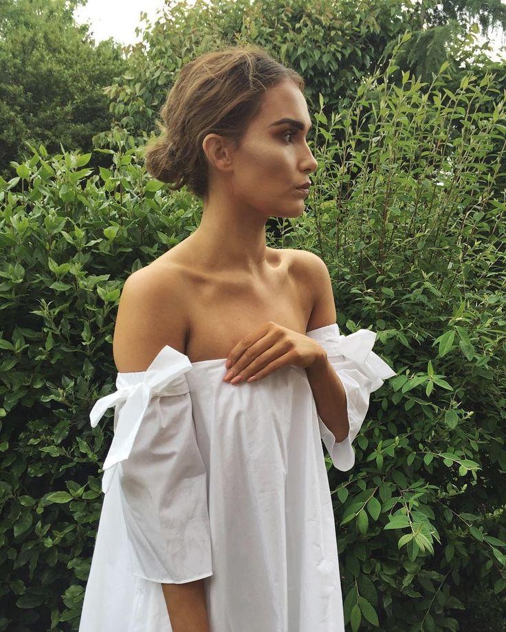 High Street Buy: White Off-The-Shoulder Dress