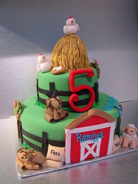 farmyard cake | Farmyard cake | Flickr - Photo Sharing!
