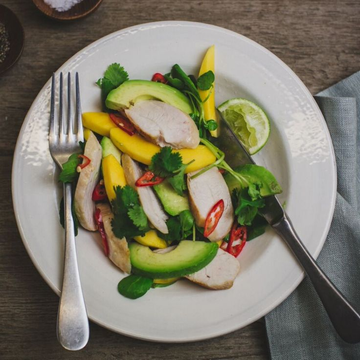 Qais Ashfaq's Stay Lean and Mean Chicken Salad