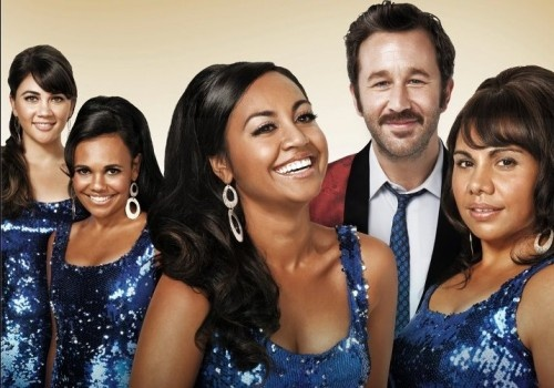 AUSTRALIAN POP SENSATION JESSICA MAUBOY AND IRISH ACTOR CHRIS O'DOWD SHINE IN 'THE SAPPHIRES'