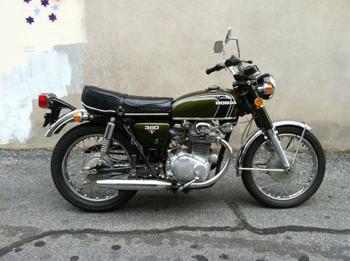 72 Honda CB350.  I certainly don't need a 3rd motorcycle. ...but I want one of these!!