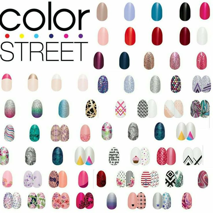Nail Polish Catalog: 67 Best MY COLOR STREET Images On Pinterest
