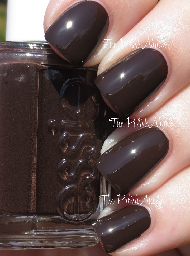 Essie Fall 2014 Dress To Kilt Collection Partner In Crime is a rich dark brown creme