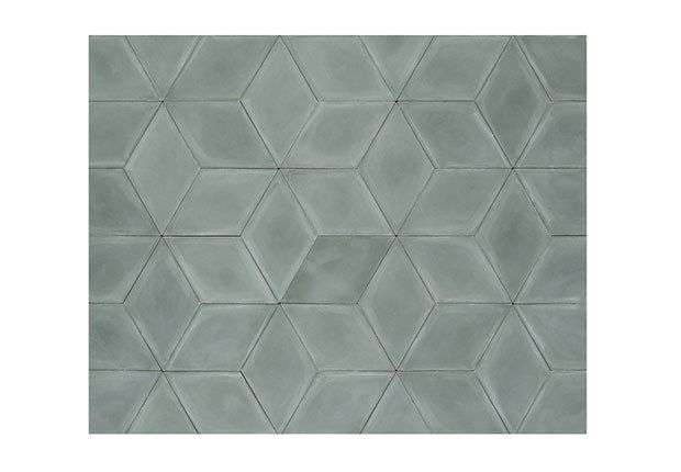 Diamond Concrete Green, cementflise, l 28 x b 16 x 1,5 cm,