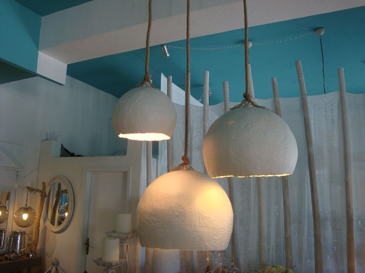 Lights made in eco style