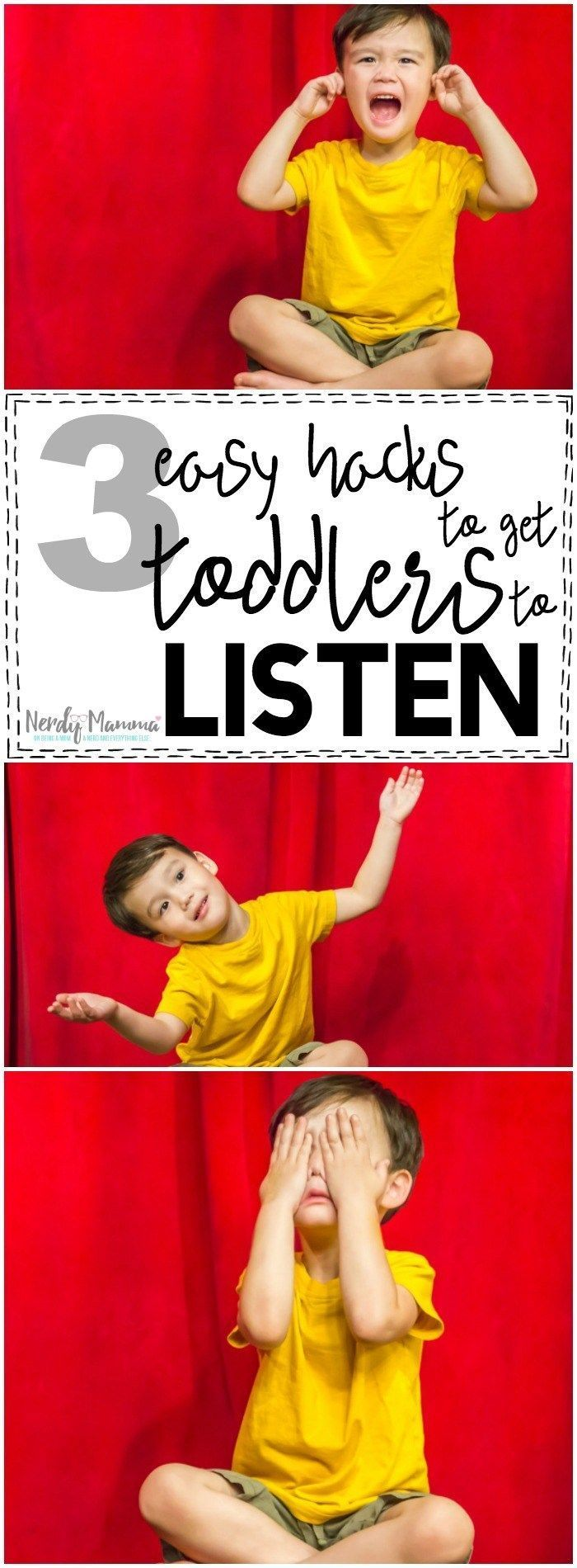 Oh, man, this mom's 3 easy tricks for getting toddlers to listen...genius!