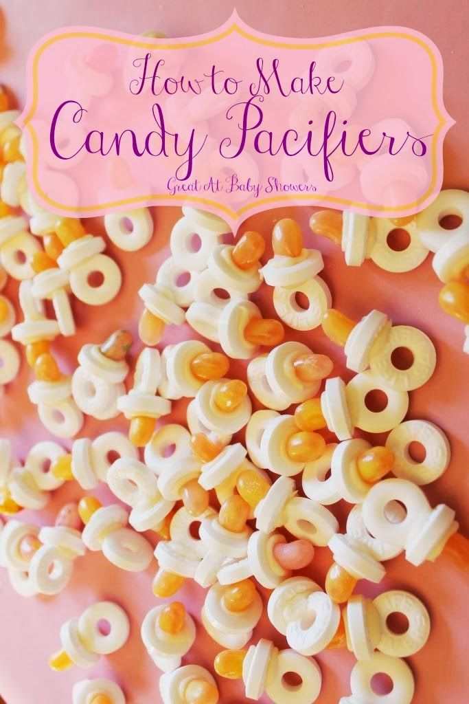 Baby Shower Favors Jelly Beans ~ Miss kopy kat how to make candy pacifiers for baby