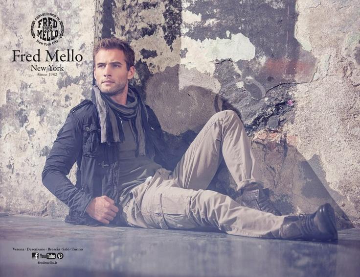 Fred Mello ss13, adv men, total look, Milano, Fashion, New york, style
