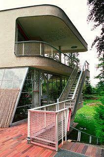 Hans Scharoun Villa Schminke in Lobou Saxony, Germany, 1933